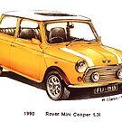 1990 Rover Mini Cooper Car by mrclassic