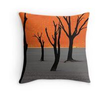 Dead Vlei Tree Skeletons Throw Pillow