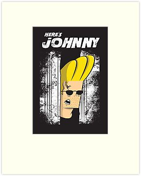 Here's johnny by Scott Weston