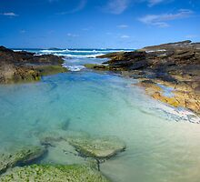 Deadman's Beach North Stradbroke Island Qld Australia by Beth  Wode