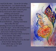 Poetry in Art - Let me Be... by Robin Monroe