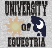 UNIVERSITY OF EQUESTRIA by Pegasi Designs