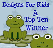 Designs for kids, top ten banner by LoneAngel