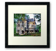 Looks Like A Doll House Framed Print