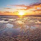 Formby Beach Sunset 1 by Robin Whalley