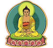 BUDDHA BLESSINGS Photographic Print