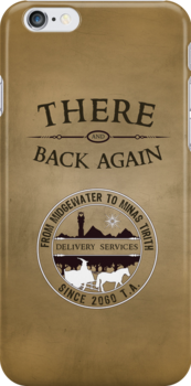 There and Back Again - Delivery Services by thehookshot