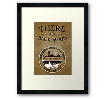 There and Back Again - Delivery Services Framed Print