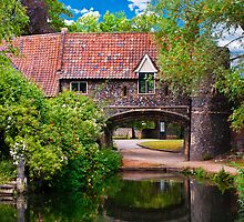 Pulls Ferry Norwich in landscape by meirionmatthias