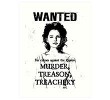 Wanted - Snow White Art Print