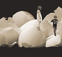 Walking on Eggshells by sweetgherkin