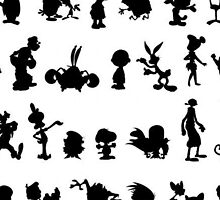 Cartoon Characters by LeonidasDesigns