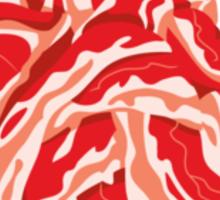 Heart of Bacon Sticker