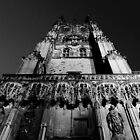 Canterbury Cathedral - The Front Tower by rsangsterkelly