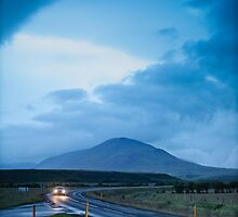 Crazy views of Iceland,  Akureyri. by Cappelletti Benjamin