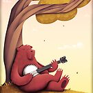 A Bear and his Banjo by ScarlettVeith