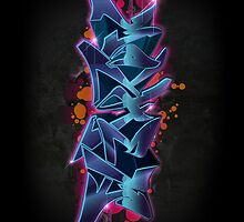 Mayhem - Graffiti by Cypher One