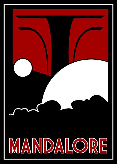 Mandalore Art Deco by Karlika