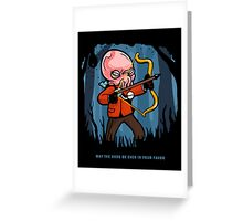 Ood in your Favor Greeting Card