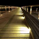 William Buckley Bridge Lights by John Sharp