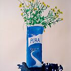 Still Life with milk carton by Chloe Bower