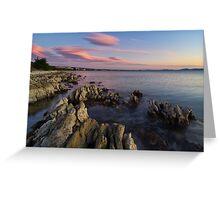 Wild Adriatic coast Greeting Card