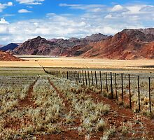 Namibian Farmland by Jill Fisher