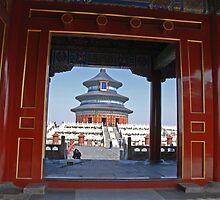 Beijing - 天壇. Sky Temple. by Jean-Luc Rollier