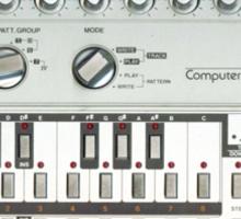 Roland 303 Bass Synth Sticker