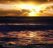 A Bright Sunrise - Jenny Dixon Beach by 3boys