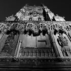 Canterbury Cathedral - Front Tower by rsangsterkelly