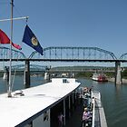 Walnut Street Bridge Boat Ride by ack1128