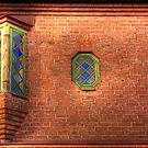 Glass and brick detail by Elisabeth van Eyken