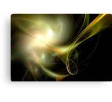 The Flight Across the Three Universes #5 - Alien Beings of Light / Outer Spaces Canvas Print