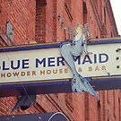 San Francisco Blue Memaid by Frank Romeo