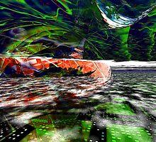 The Flight Across the Three Universes #6 - Worlds Apart by Benedikt Amrhein