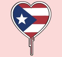 PUERTO RICAN BLEEDING HEART by SOL  SKETCHES™