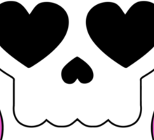 Lollipop Chainsaw She Skull Sticker