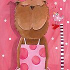 Mrs. Bear love Music by Malerin Sonja Mengkowski