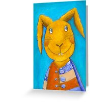 Mr. Rabbit  Greeting Card