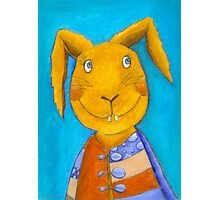 Mr. Rabbit  Photographic Print