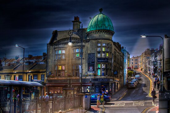 The Nightingale Theatre - Brighton Beach, England by Mark Richards