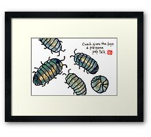 fifa world cup: armadillidiidae league (episode 1) Framed Print