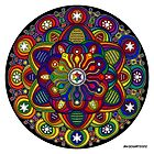 Mandala 42 Rainbow Prints, Cards & Posters by mandala-jim