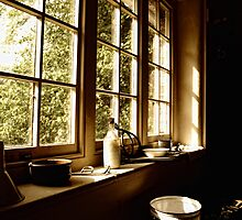 Tack Room Windowsill by Nigel Bangert