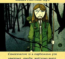 Ranger Hrothgar Says - Conservatives by Toradellin