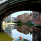 FINE DAY, BRIDGEWATER CANAL, MANCHESTER........! by Roy  Massicks