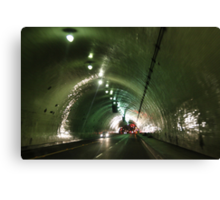 Tunnelling Under Los Angeles Canvas Print