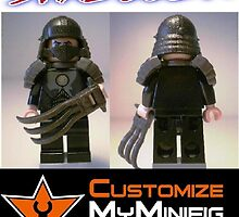 Customize My Minifig Collector Card 1 - Custom LEGO® TMNT Shredder by Chillee
