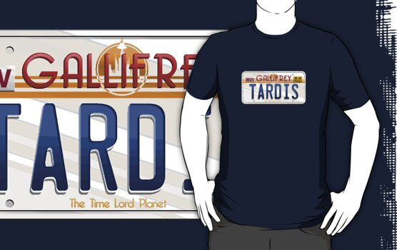 TARDIS License Plate by trekspanner